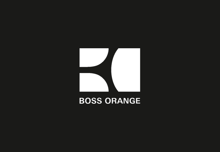 logo hugo boss orange