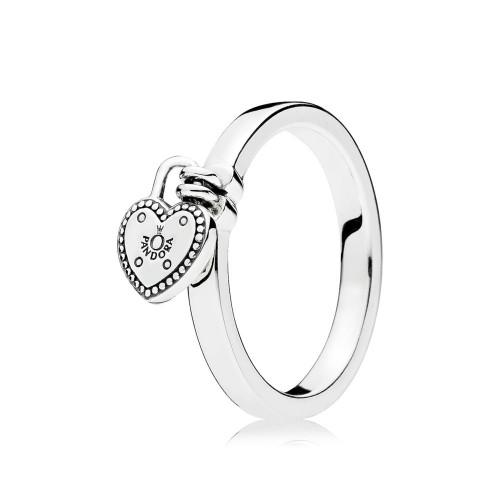 Pandora Liebesschloss Ring