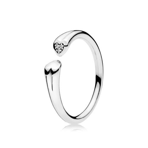 Pandora Zwei Herzen Ring