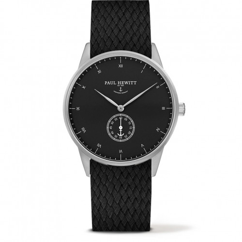 Paul Hewitt Signature Line Black Sea Silver Perlon Black - PH-M1-S-B-21