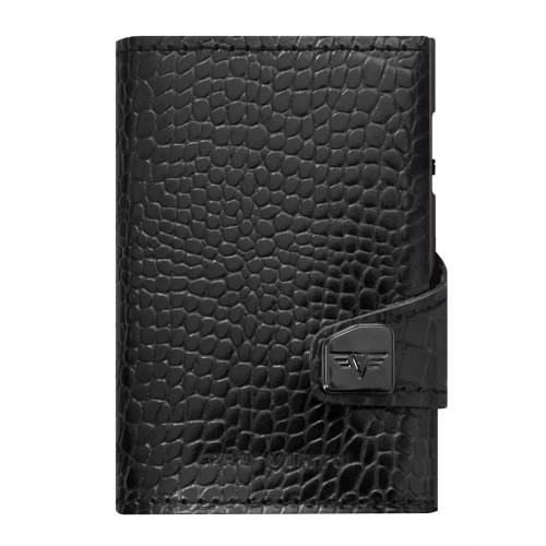 Tru Virtu Click & Slide Wallet Croco Black/Black - 24.10.4.0002.08