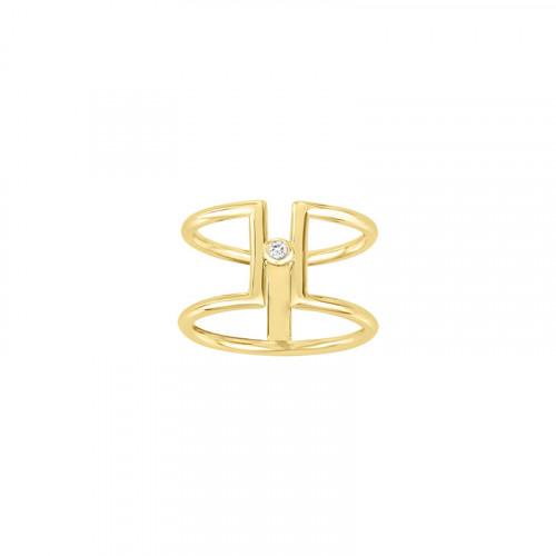 La Garçonne Diamant Harmonie Ring - 26100006