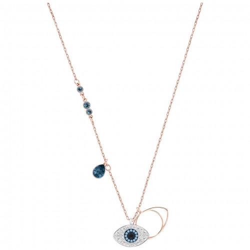 Swarovski Duo Evil Eye Halskette - 5172560