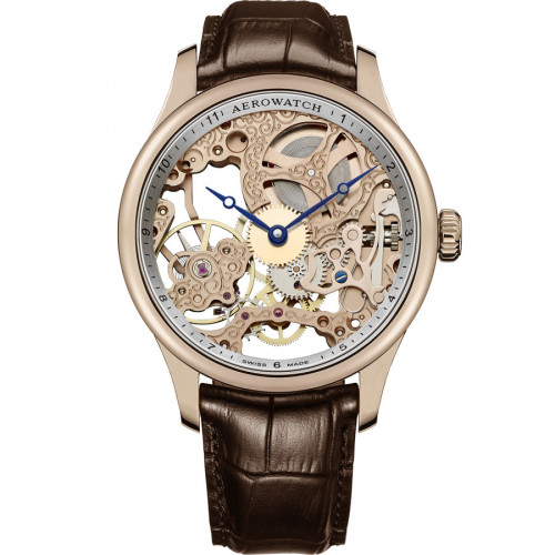 Aerowatch Renaissance Lady Skeleton - A 57981 R101