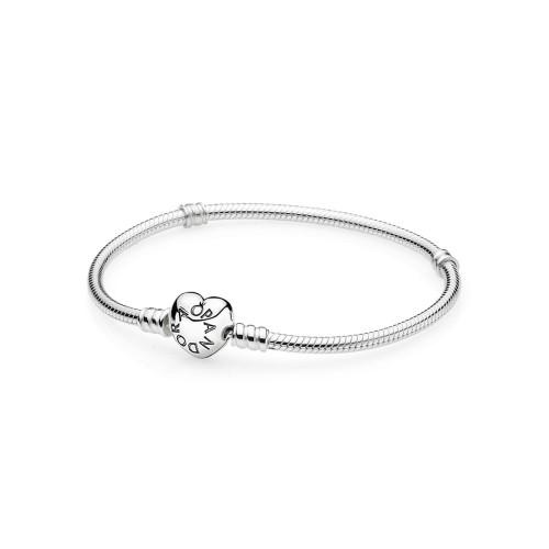 Pandora Armband mit Herz-Verschluss - 590719
