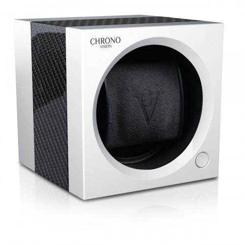 Chronovision One Bluetooth Carbon Weiss Seidenmatt - 70050/101.17.12