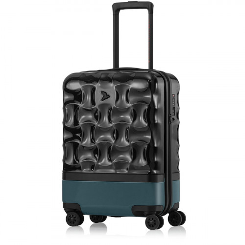 PACK EASY UpHill Cabin-Trolley S Schwarz-Peacock - 9469NO