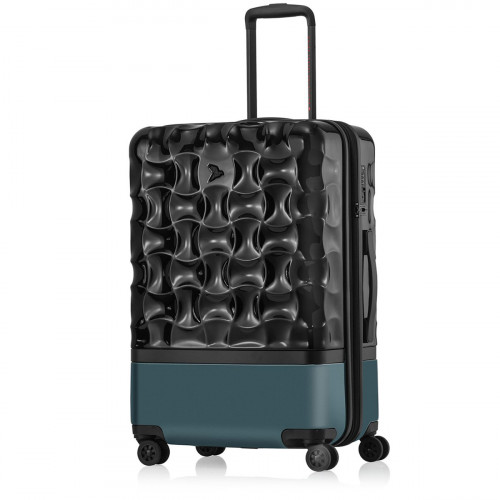 PACK EASY UpHill Trolley M Schwarz-Peacock - 9470NO