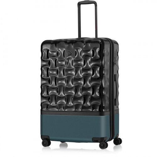 PACK EASY UpHill Trolley L Schwarz-Peacock - 9471NO