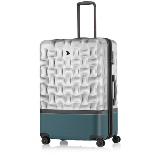 PACK EASY UpHill Trolley L Silber-Peacock - 9471SI