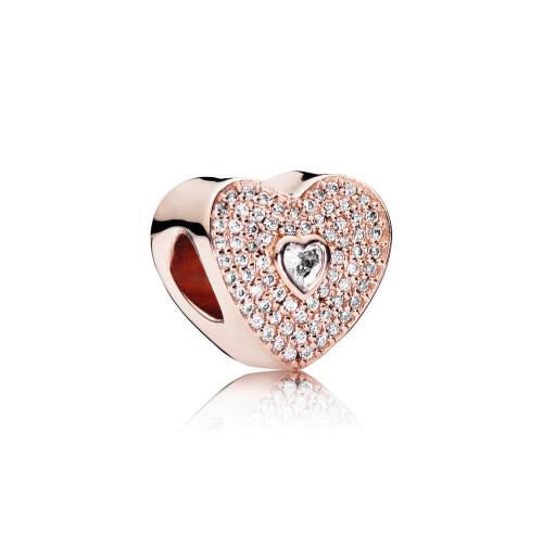 Pandora Sweetheart Charm - 781555CZ