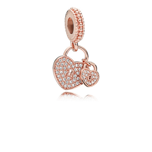 Pandora Love Locks Dangle Charm - 781807CZ