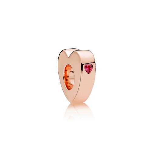 Pandora Zwei Herzen Charms/Beads - 786559CZR