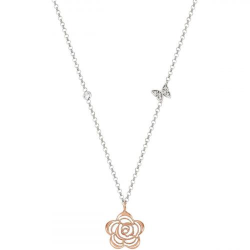 Nomination Primavera Blume Halskette - 147404-024