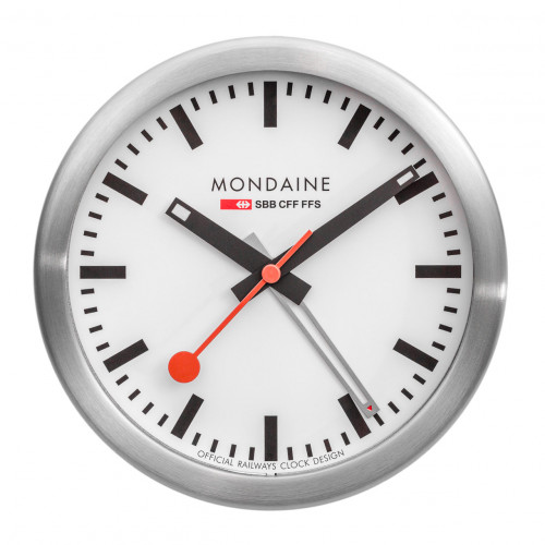 Mondaine Mini Desk Clock - A997.MCAL.16SBB