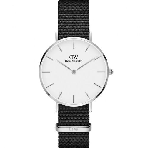 Daniel Wellington Classic Petite Cornwall White Silver