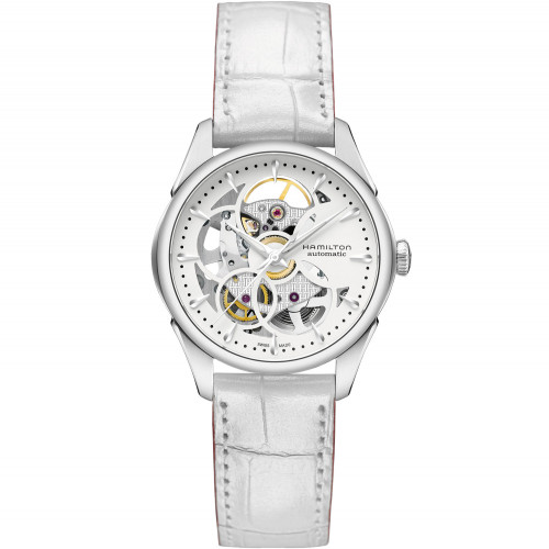 Hamilton Jazzmaster Viewmatic Skeleton Lady - H32405811