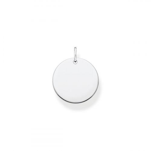 Thomas Sabo Coin Anhänger Silber - PE927-001-21