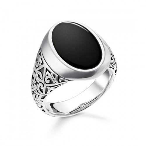 Thomas Sabo Ring Black - TR2242-698-11