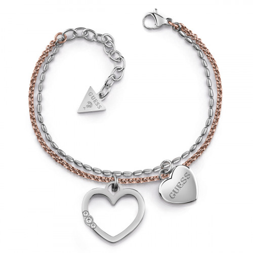 Guess Unchain My Heart Armband - UBB78099-S