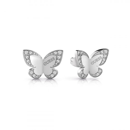 Guess Love Butterfly Ohrstecker - UBE78010