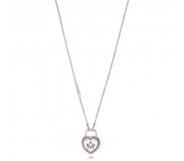 49a833870fff Pandora Halskette Verschlungenes Doppel-Herz - 590517-45 - Helen ...