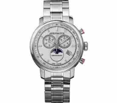 Aerowatch Renaissance Chronograph Moon-Phases - A 84936 AA04 SAT M