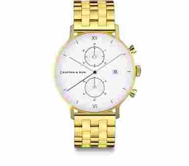 Kapten & Son Chrono Gold Steel - CD09A0840F12A