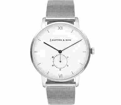 Kapten & Son Heritage Silver Mesh - CF03A0726F22A