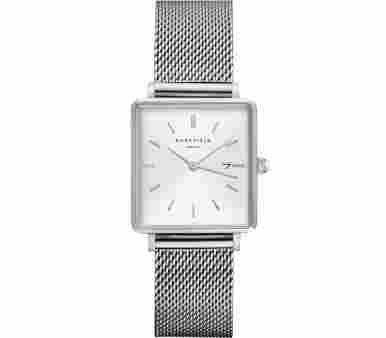 Rosefield The Boxy Mesh Silver - QWSS-Q02