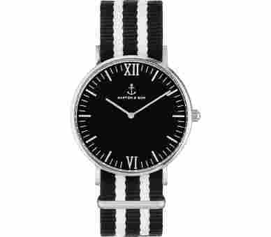 Kapten & Son Silver Black Nightrider