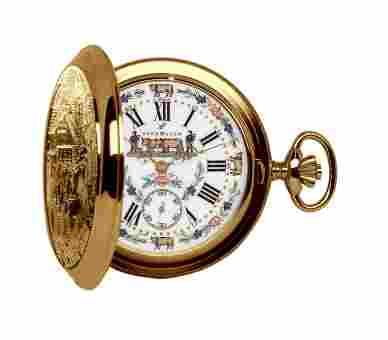 Aerowatch Savonnettes Gold Plated - 55626 J501