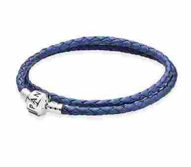 Pandora Blaues Zweifach Armband - 590705CSB-D2