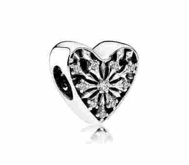Pandora Charms/Beads Winter-Herz - 791996CZ