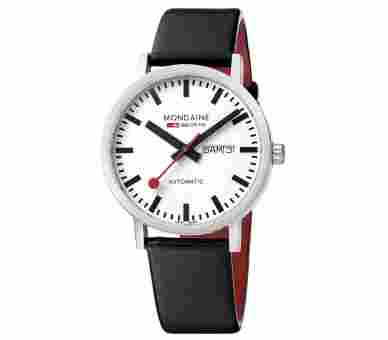Mondaine Classic 40 Automatic Day Date - A132.30359.16SBB