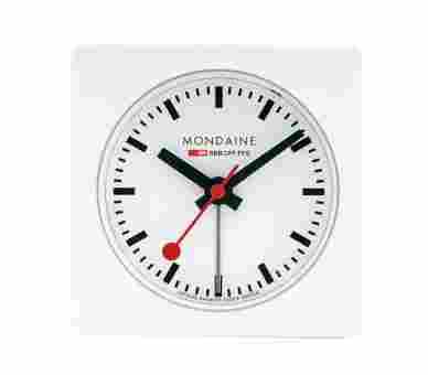 Mondaine Alarm Cube white - A996.ALIG.10SBB