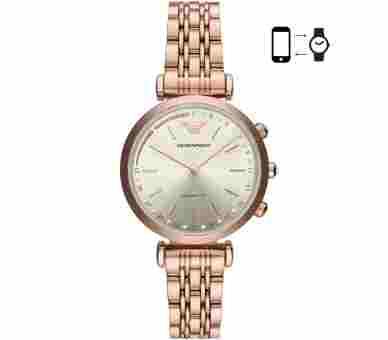 Emporio Armani Gianni T-Bar Hybrid Smartwatch - ART3026
