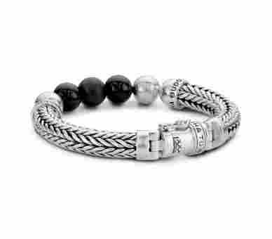 Buddha to Buddha Armband Ellen Onyx - 632ON-BTB