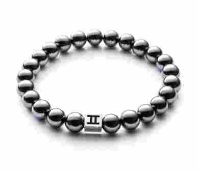 Gemini Classic Hematite Dark Silver - C18