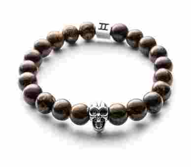 Gemini Classic Bronzite Skull Brown - C5