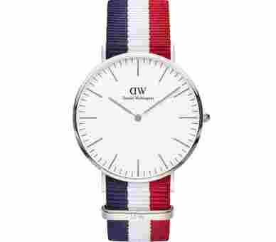 Daniel Wellington Classic Cambridge Silver (40 mm) - DW00100017