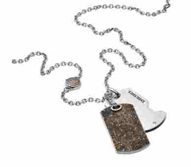 Diesel Double Dog Tag - DX1079040