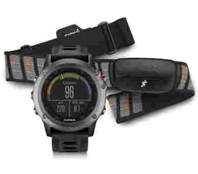 Garmin Outdoor Fenix 3 Bundle + Hrm4 (Pulsgurt) - 010-01338-11