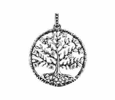 Julie Julsen Anhänger Crystal Tree (30 mm) - JJ8810.6
