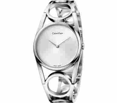Calvin Klein Round Silber