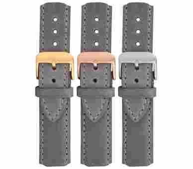 Paul Hewitt Watchstrap Leather Grey