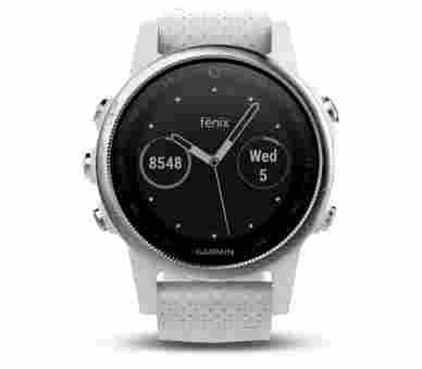 Garmin Fenix 5S Carrara White - 010-01685-00