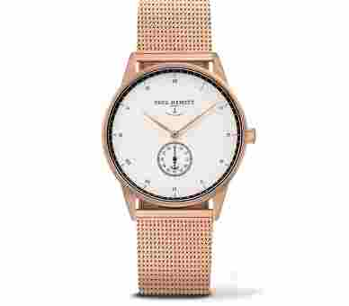 Paul Hewitt Signature Line White Ocean Rose Gold Metal Rose Gold - PH-M1-R-W-4