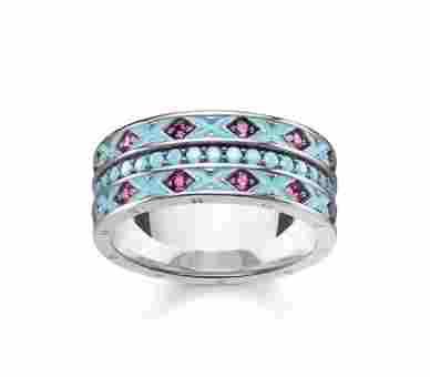 Thomas Sabo Ring Asian Ornaments - TR2174-341-17