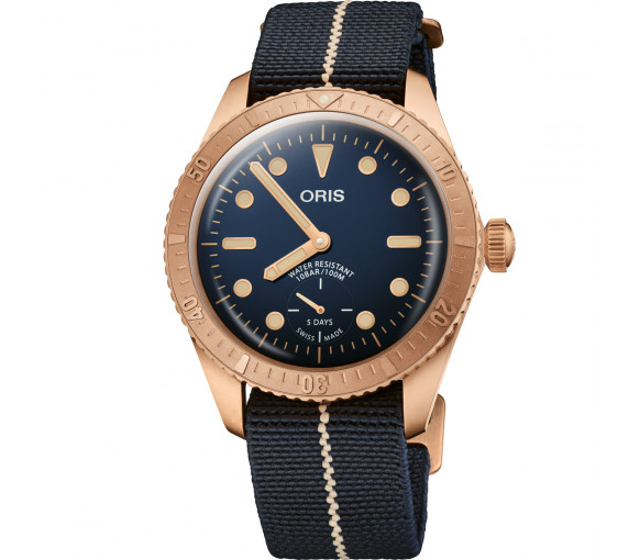 Oris Divers Carl Brashear Cal. 401 Limited Edition - 01 401 7764 3185-Set